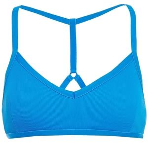"""Koral """"Time Groove"""" Ribbed Jersey Sports Bra NWT"""